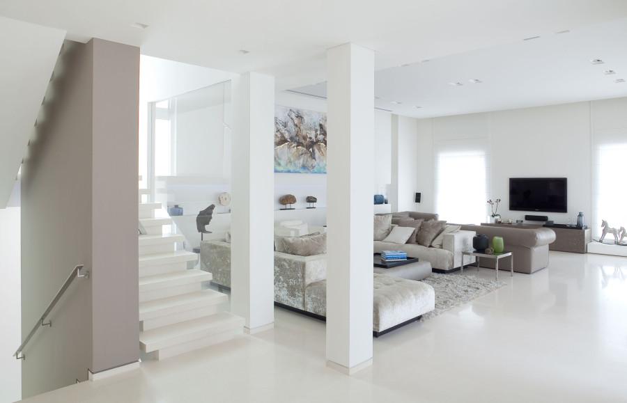 El blanco como color dominante en paredes - ALCAR Pinturas y ...